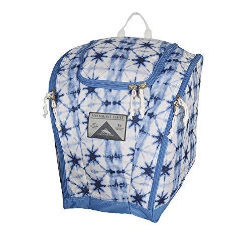 (High Sierra Ski Boot/Snowboard Boot Bag Backpack - Indigo Dye/Mineral/White)