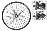 Wheel Set Pair 20 x 1.75 WEI519, Bolt On, Blk, 36H