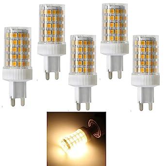Smd Ampoule G9 Base céramique 10w 86x2835 Led 10wampoule NnPkOXw80