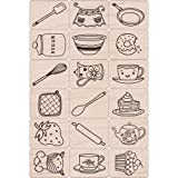 Hero Arts Ink and Stamp Set, Cook It