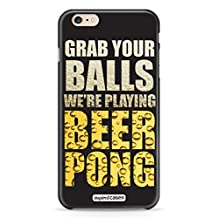 Inspired Cases 3D Textured Grab Your Balls - Beer Pong Case for iPhone 6 Plus & 6s Plus