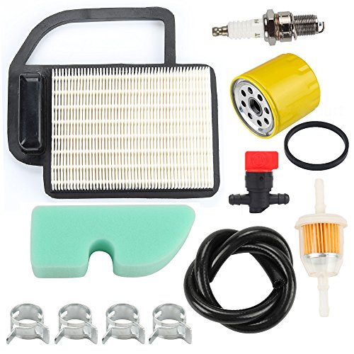 Harbot 98018 21541600 PR3011004 Air Oir Filter Tune Up Kit for Cub Cadet LTX1040 LTX1045 KH-2088302-S1 OCC-2008302 Toro 13AX60RG744 13AX60RH744 LX420 LX460 Lawn Tractors ()