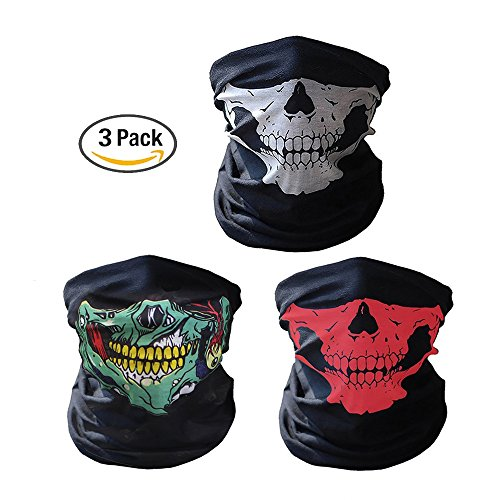Motorcycle Skull Face Mask - 7