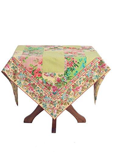 "April Cornell Festival Patchwork 54"" Tablecloth"