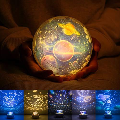 Bedroom Solar System Lamp