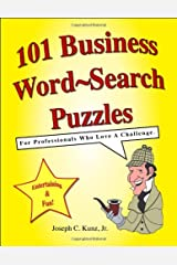 101 Business Word-Search Puzzles Paperback