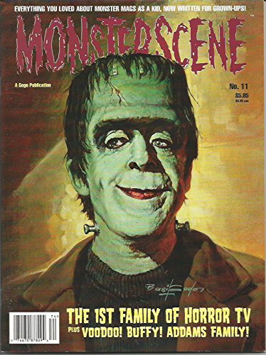 Monsterscene Magazine No. 11 Winter 1998 Herman Munster on the cover
