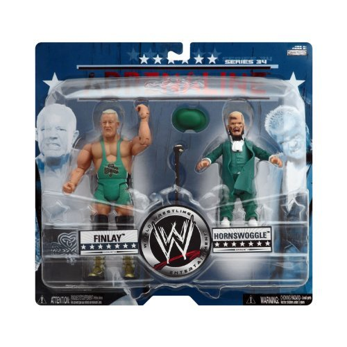 WWE Wrestling Adrenaline Series 34 Action Figure 2-Pack Finlay and Hornswoggle -