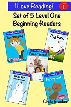 Sight Words:  5 Sight Word Beginning Readers (Reading Help For Kindergarten, Learn To Read, Sight Word Books For Children) (I Love Reading) by [Bracken, Cindy]
