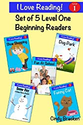 Sight Words:  5 Sight Word Beginning Readers (I Love Reading)