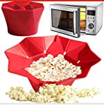 fold away electric skillet - Magic Microwave Silicone Popcorn Maker Fold Bucket Popper Bowl DIY Healthy Snack Makers Container Kitchen Baking Tools