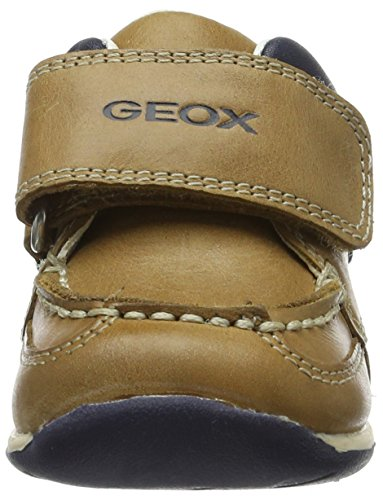 Geox B Each Boy C, Mocasines para Bebés Beige (Caramel/navyc5gf4)