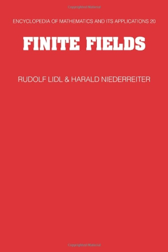 Finite Fields (Encyclopedia of Mathematics and its Applications)