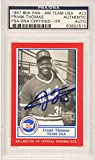 Frank Thomas Chicago White Sox Autographed 1987 BDK Pan-Am Team USA Rookie #23 Card PSA/DNA - Fanatics Authentic Certified
