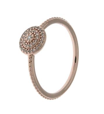 88903e4928cf7 PANDORA Radiant Elegance Ring, PANDORA Rose & Clear CZ 180986CZ-50 EU 5 US