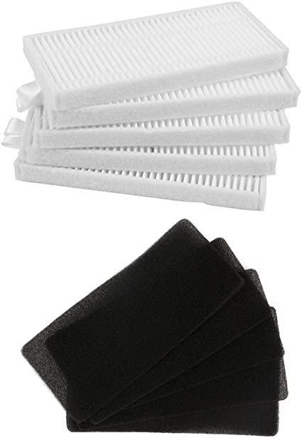 BLUELIRR 5 filtro HEPA + 5 unids filtro de esponja para CONGA ...