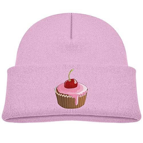 Banana King Cupcake Sweet Food Baby Beanie Hat Toddler Winter Warm Knit Woolen Watch Cap for Kids -