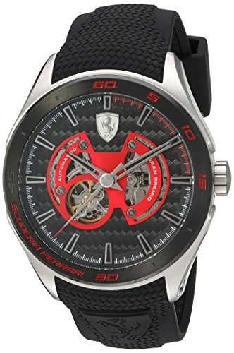 scuderia-ferrari-mens-mechanical-hand-wind-stainless-steel-and-silicone-casual-watch-colorblack-mode