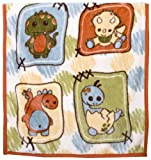 CoCaLo Baby Dinos At Play Soft and Cozy Blanket – 36″x40″, Baby & Kids Zone