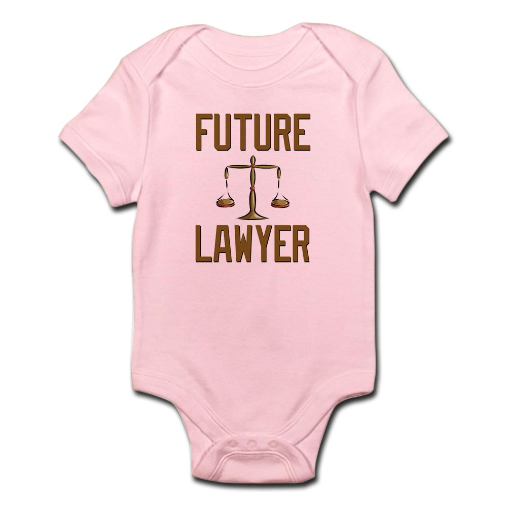 CafePress - Future Lawyer - Cute Infant Bodysuit Baby Romper