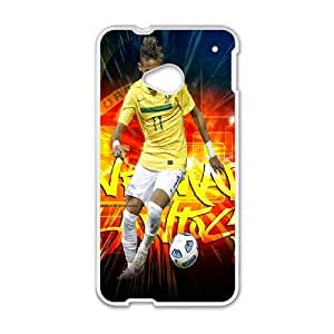 Barcelona Players Neymar for HTC One M7 Phone Case 8SS461037