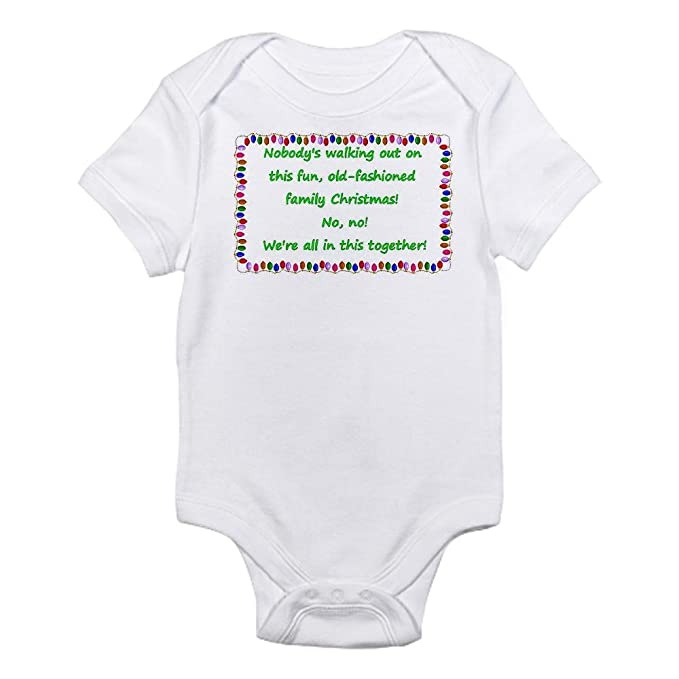 cafepress national lampoons christmas vacation quote infant cute infant bodysuit baby romper - Christmas Vacation Onesie