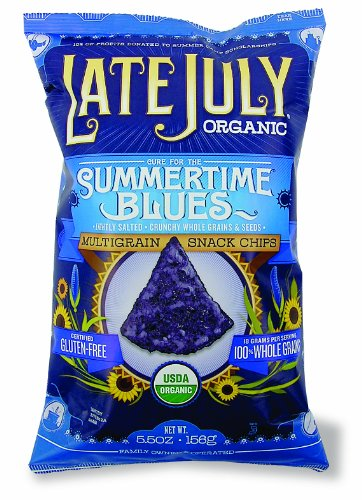 LateJuly Tortilla Chips SummertimeBlues 5.5oz(6Pk)