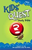 NIrV, Kids' Quest Study Bible, Hardcover: Real Questions, Real Answers (New International Readers Version)