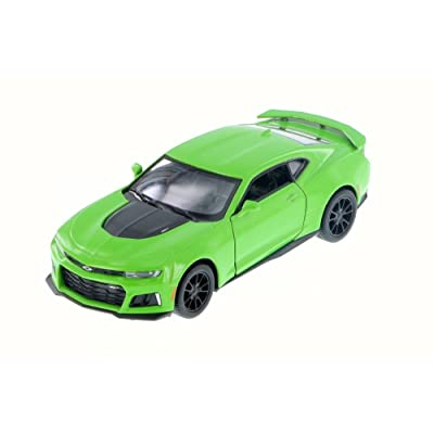 KiNSMART 2020 Chevrolet Camaro ZL1, Green 5399D - 1/38 Scale Diecast Model Toy Car but NO Box: Toys & Games