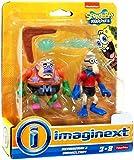 Imaginext Spongebob Squarepants Mermaidman & Barnacleboy
