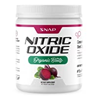 Beet Root Powder Organic - Nitric Oxide Beets by Snap Supplements - Supports Lower Blood Pressure and Circulation Superfood, Muscle & Heart Health, Increase Stamina & Energy, Vitamin B3, B12 - 250g…
