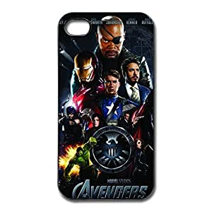Hot Marvels Avengers IPhone 4/4s Hard Plastic Covers Anti-Scratch