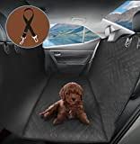 Pumpkin Dog Car Seat Covers Hammock, 600D Heavy Duty Waterproof Pet Seat Cover Cars Trucks and SUVs with Seat Belt For Sale