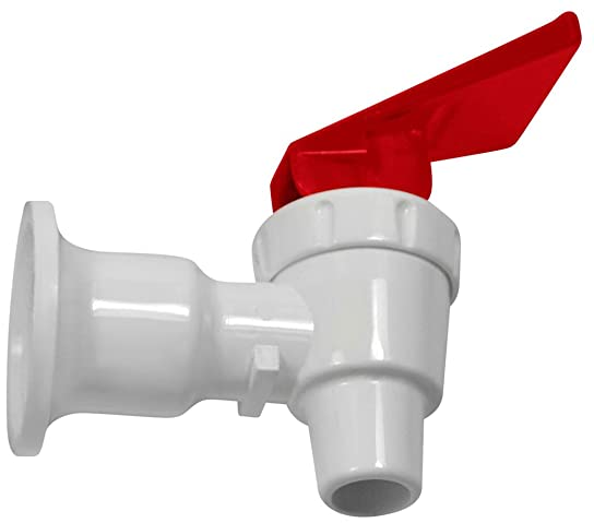 Tomlinson 1008781 Replacement Cooler Faucet – Red Pack of 20