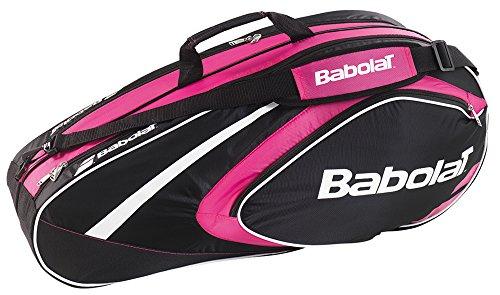 Babolat Club Line 6 Racquet Bag, Black/Pink