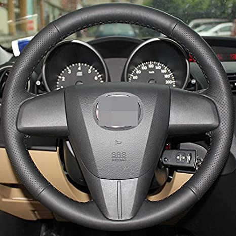 Amazon.com: Funda para volante, 2010 – 2013 Mazda Mazda3 ...