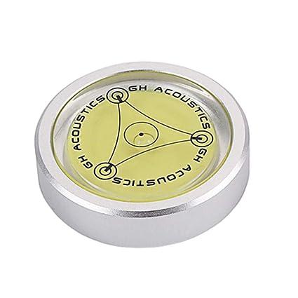 Artibetter - Estabilizador para discos de vinilo, nivel de peso lp ...