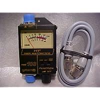 Workman 103 SWR / Power 150 Watt Meter CB Ham Radio 25-50 MHz , 3 ft Rg8x Jumper