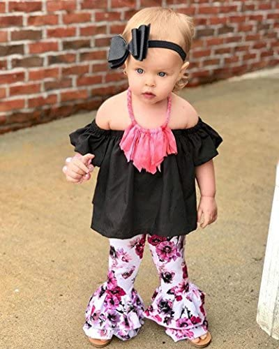 Baby Girls Summer Swimsuit Vinjeely Cute Stripped Ruffle Backless Sleeveless Romper