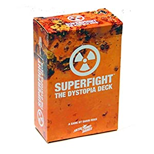 Superfight Dystopia Deck: 100 Dystopian Cards for The Game of Absurd Arguments | Party Game Expansion of Super Powers…