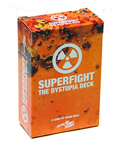 Superfight Dystopia Deck: 100 Dystopian Cards for The Game of Absurd Arguments | Party Game Expansion of Super Powers… 3