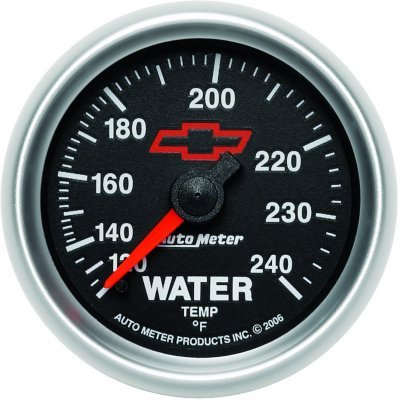 A483632004069278-3632-00406 - Autometer 3632-00406 Water Temperature Gauge - Mechanical, Universal (Metric Water Temperature Gauge)