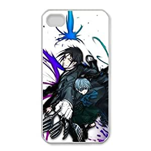 iPhone 4,4S Phone Case Cartoon Black Butler Protective Cell Phone Cases Cover DFH096944