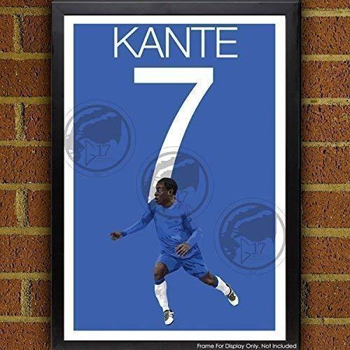 (N'Golo Kanté Poster - Chelsea Soccer Art)