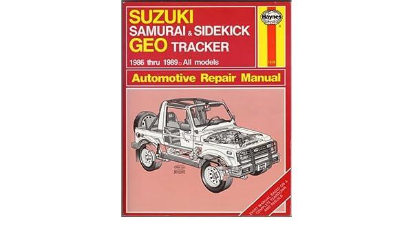 1990 geo tracker service repair manual software