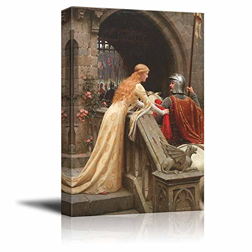 wall26 - God Speed by Edmund Leighton - Canvas Print Wall Art Famous Painting Reproduction - 16