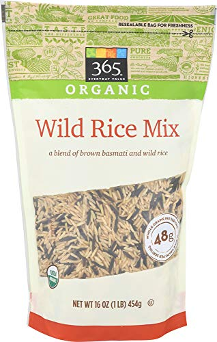 - 365 Everyday Value, Organic Wild Rice Mix, 16 oz