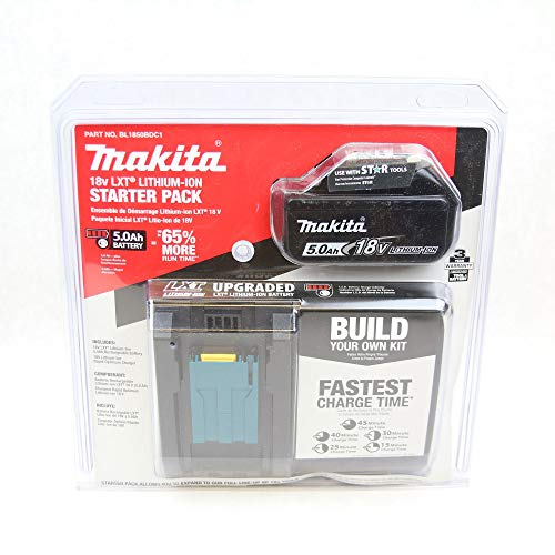 Makita BL1850BDC1  LXT Lithium-Ion Battery and Charger Starter Pack, 18V - http://coolthings.us