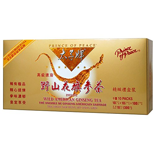 (Prince of Peace Wild American Ginseng Instant Tea (100)