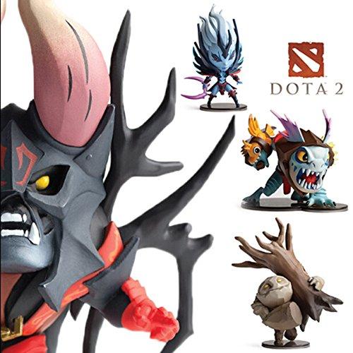 4pcs/Set Dota 2 Game Figure SLARK TINY Doom Boxed PVC Action Figures Collection dota2 Toys